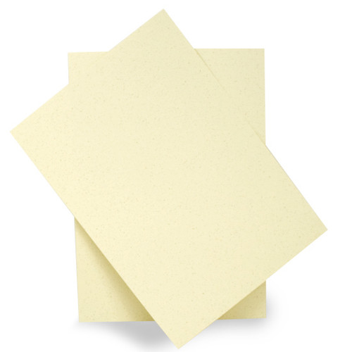 A6 Recycled ivory grain card sheets