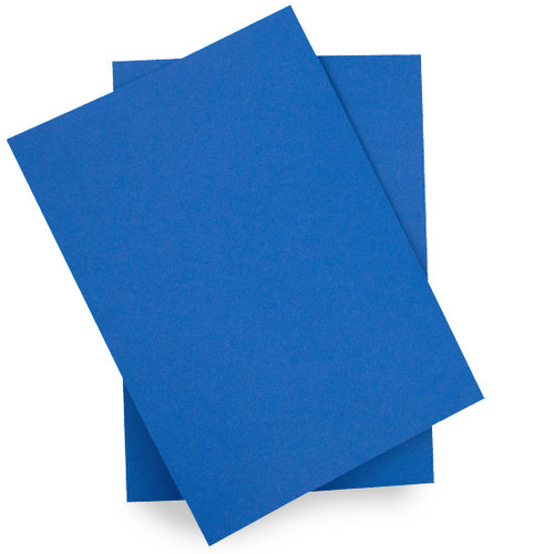 A6 Card Sheets, Royal Blue Matte (50 pack)