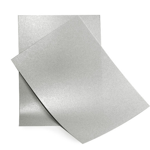 A4 Silver pearlescent paper