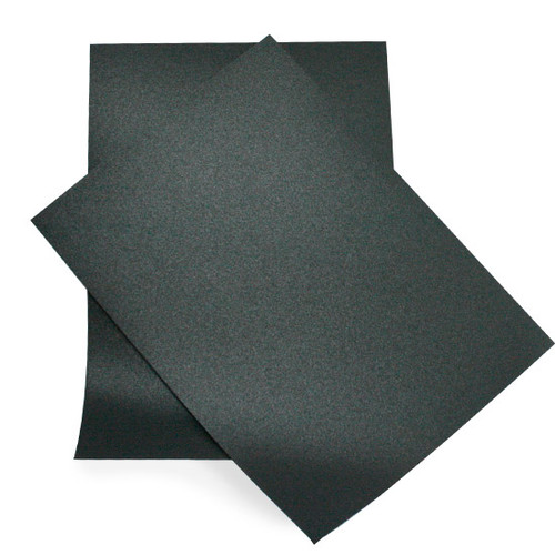 A6 Black anthracite pearl card sheets