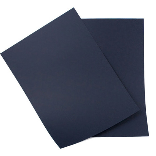 A4 Card, Navy Blue Matte