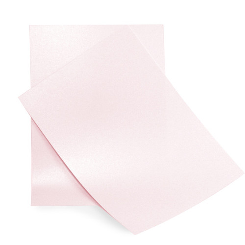 Wholesale Box, A4 Pale Pink Pearl Card (250 sheets)