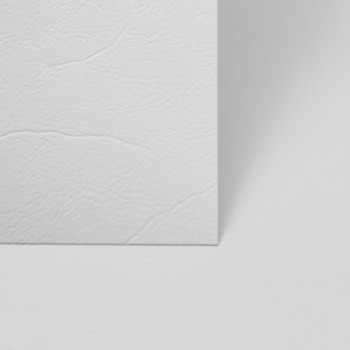 A6 White leather card sheets
