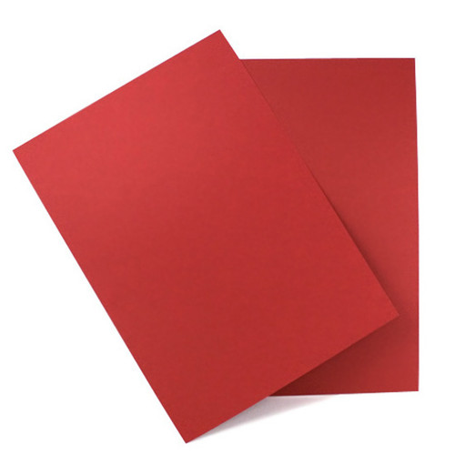 A5 Cherry red card sheets