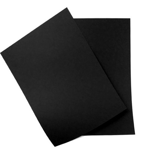 A5 Card Sheets, Black Matte (50 pack)