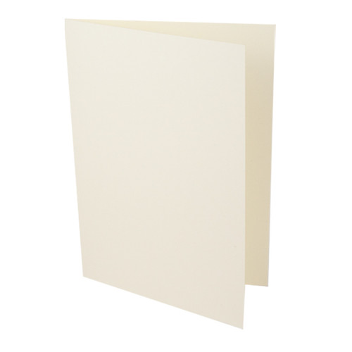 A6 Card Blanks, Ivory Silk 350gsm