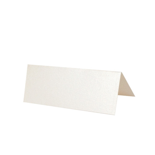 Place Cards, Ivory White Pearl  230gsm
