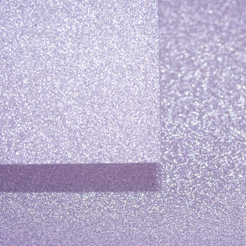 A4 pastel lilac glitter card swatch