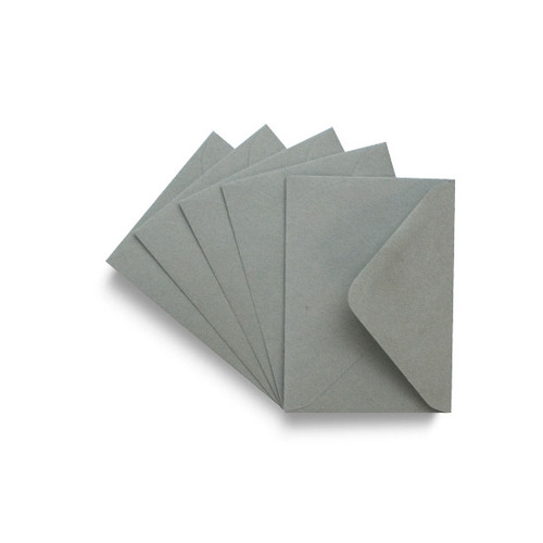 C7 Small Mini Envelopes, Smoke Grey