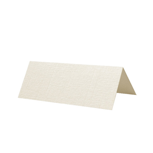 Place Cards, Ivory Linen