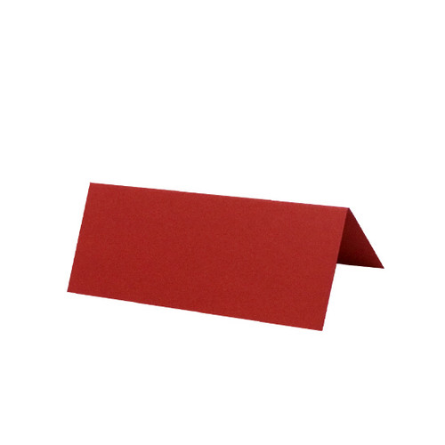 Place Cards, Cherry Red Matte
