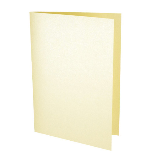 Order of Service Card Blanks, Cream Pearl