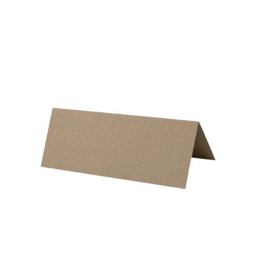 Place Cards, Light Brown Matte