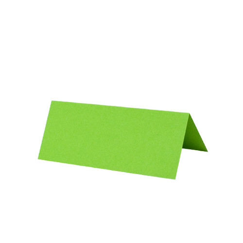 Place Cards, Lime Green Matte