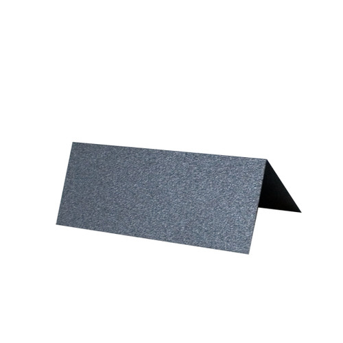 Place Cards, Anthracite Pearl