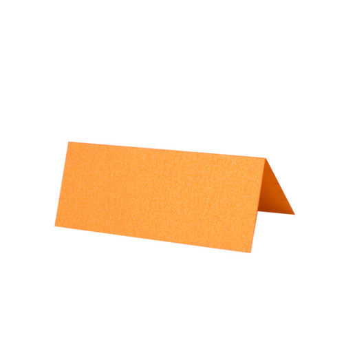 Place Cards, Orange Flame Pearl