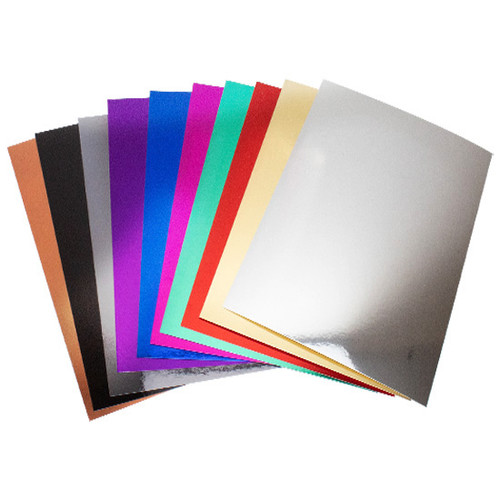 A4 mixed pack of mirror card