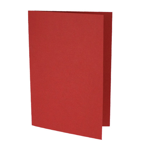 A5 Card Blanks, Cherry Red Matte