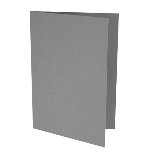 A5 Card Blanks, Grey Matte