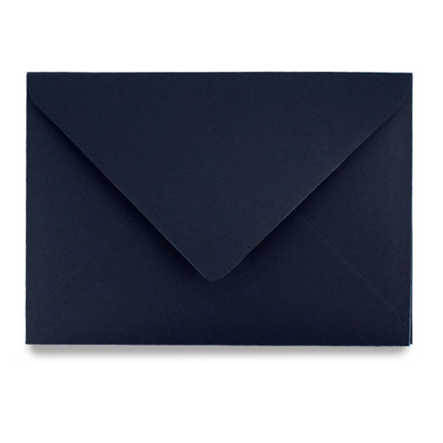 C5 Envelopes, Navy Blue Matte
