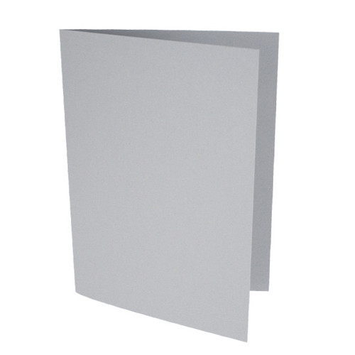 A6 Card Blanks, Storm Grey Matte