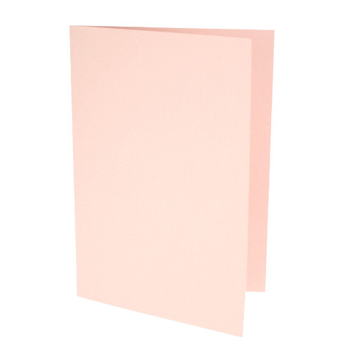 A6 Card Blanks, Rose Gold Matte