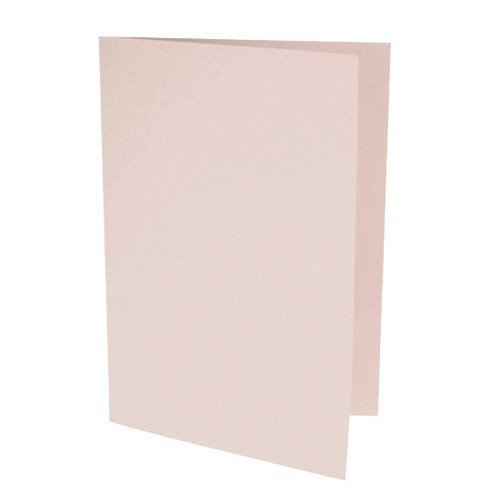 A6 Card Blanks, Blush Pink Matte