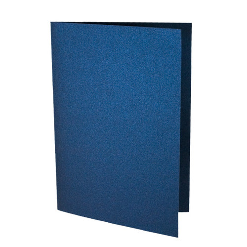 A6 Card Blanks, Navy Blue Pearl