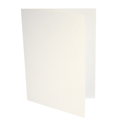 A6 Card Blanks, White Gold Dust Pearl
