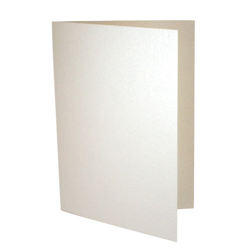 A6 Card Blanks, Ivory White Pearl 230gsm