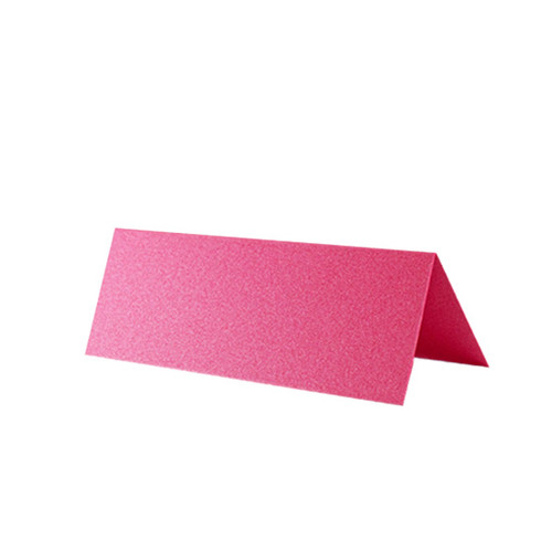 Place Cards, Raspberry Pink Pearl