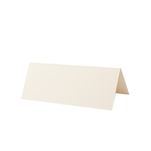 Place Cards, Recycled Ivory Fleck