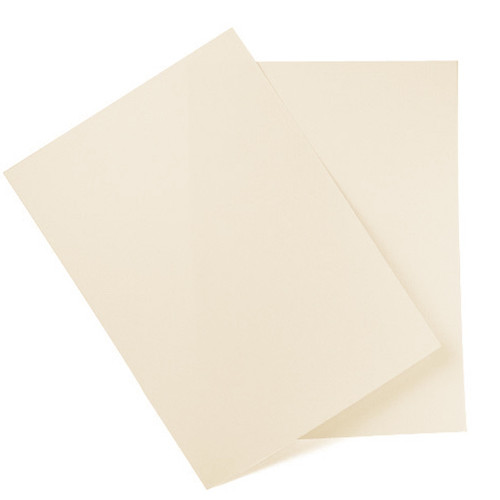A6 Card Sheets, Pale Almond Matte (50 pack)