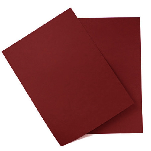 A5 Card Sheets, Bordeaux Matte