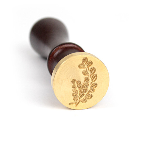 Laurel Wax Seal Stamp and Handle