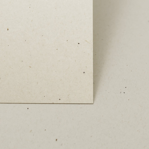A5 Recycled ivory fleck card sheets