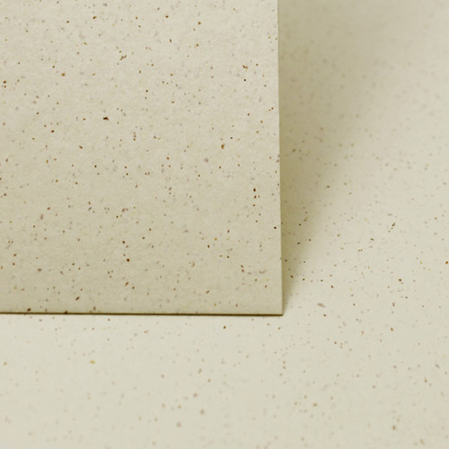 A5 Recycled ivory grain card sheets