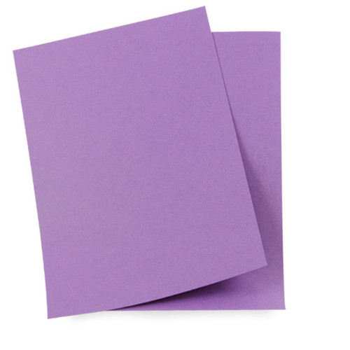 A5 Card Sheets, Purple Mist Matte
