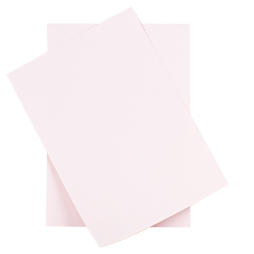A6 Barely Blush Card Sheets