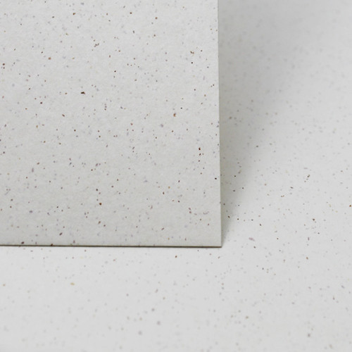5 x 7 Recycled white grain card sheets