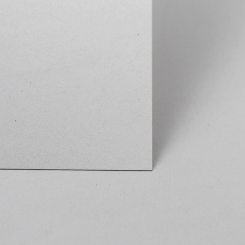 5 x 7 Recycled white card sheets