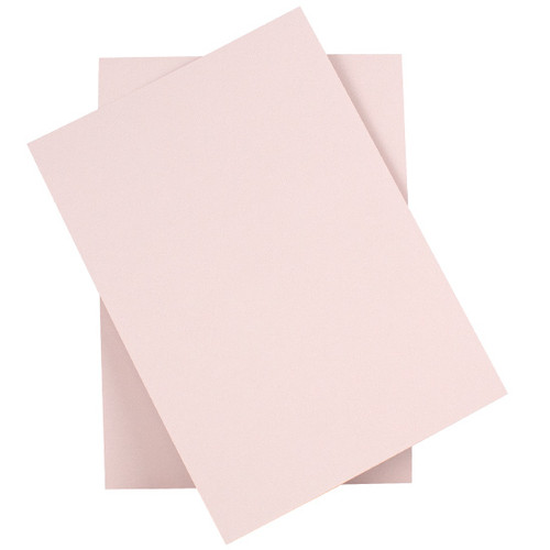 5 x 7 Card Sheets, Blush Pink Matte