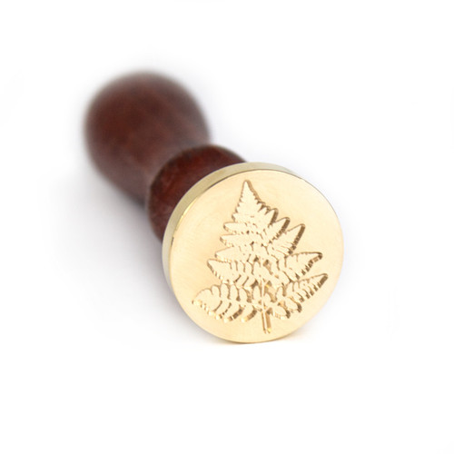 Fern Wax Seal Stamp and Handle