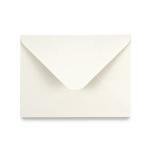 5 x 7 Recycled Aged White Envelope