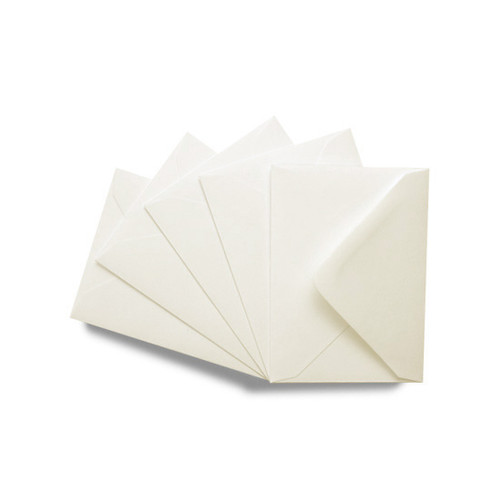 C7 Small Mini Envelopes, Recycled Aged White 140gsm