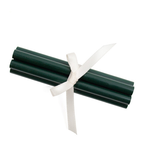 Dark Green Glue Gun Sealing Wax Sticks Bundle of 5