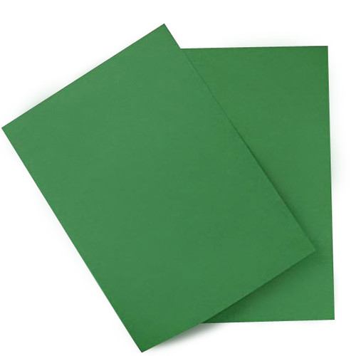 A4 Forest Green Card