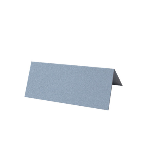 Dusty Blue Tent Fold Place Card