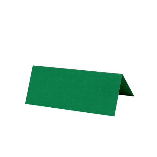 Forest Green Tent Fold Place Card