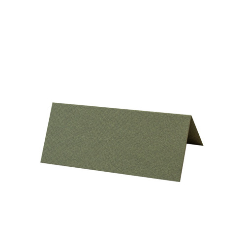 Seaweed Green Tent Fold Place Card